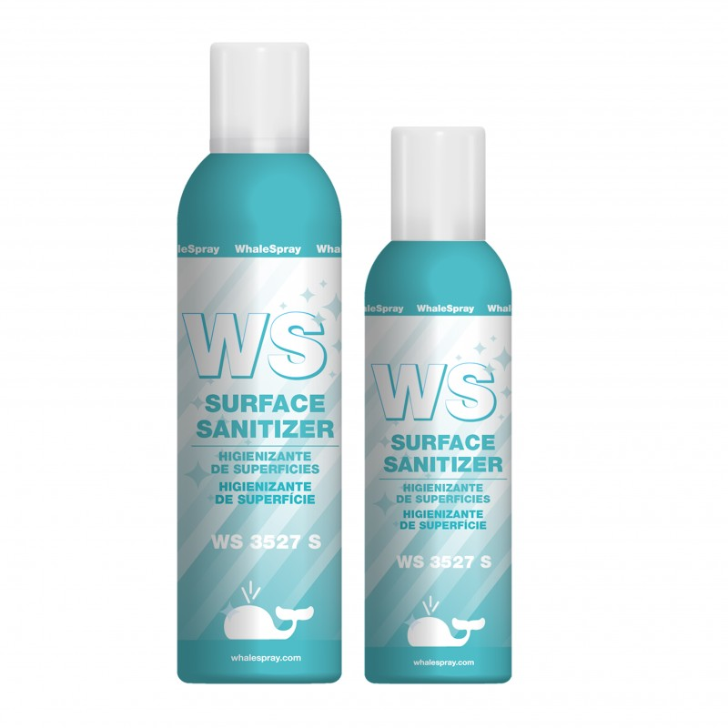 Spray Higienizante de Superficies WhaleSpray WS 3527 S 200 ml