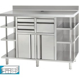 Mueble Cafetera INFRICO MCAF2500
